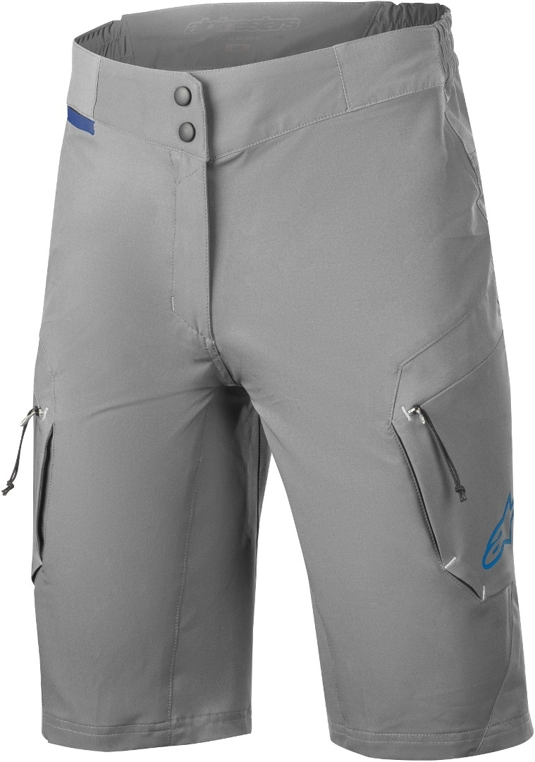 Alpinestars Stella Alps 8.0 Ladies Bicycle Shorts, grey, Size 34 for Women, grey, Size 34 for Women