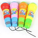 Kids Toy Pretend Play Sound Plastic Vibrate Kid's Microphone
