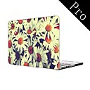 Pretty Flowers Design Full-Body Protective Plastic Case for MacBook Pro 13