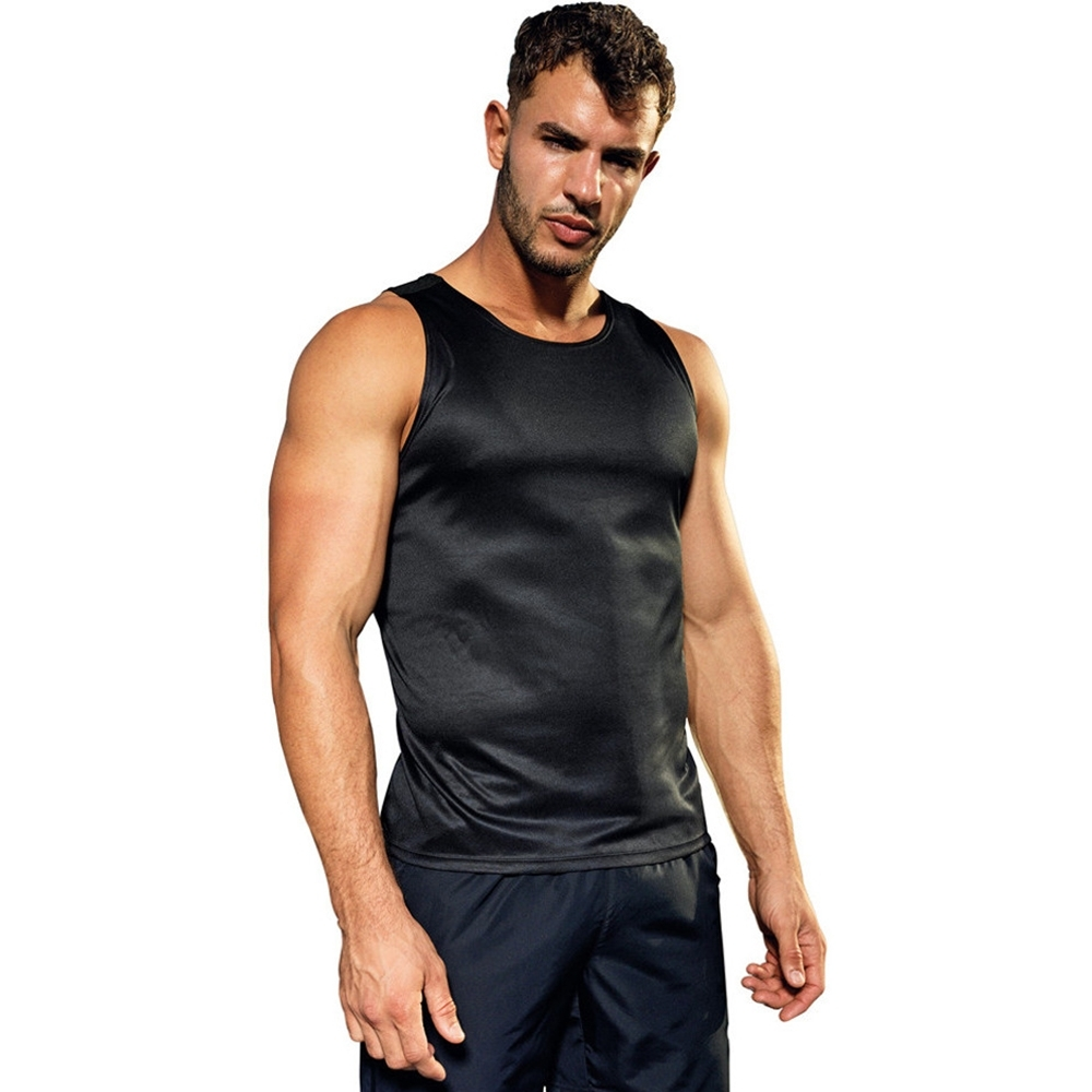 Outdoor Look Mens Contrast Lightweight Wicking Vest Top L - Chest Size 42'