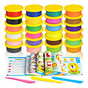 Xinbei Stationery 24 Colors Plasticine Set 3D Colorful Clay Toys