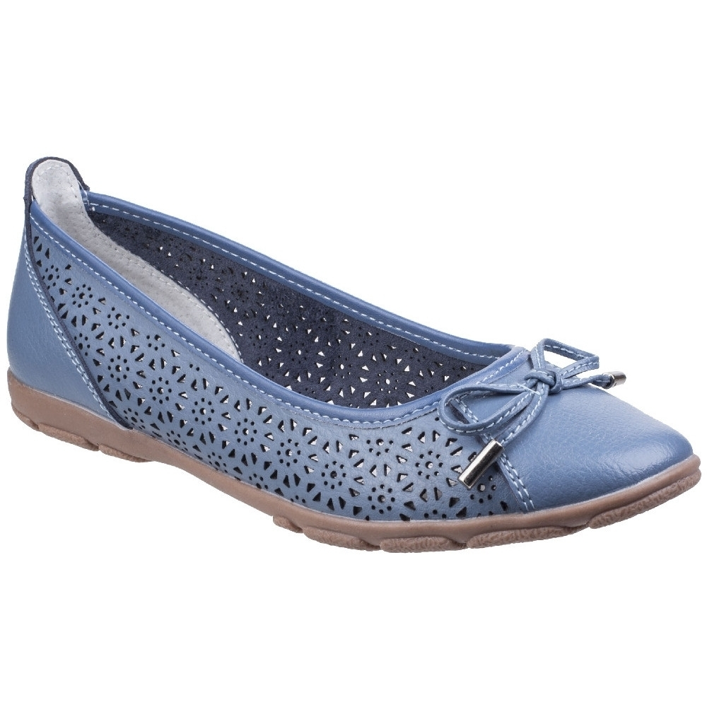 Fleet & Foster Womens Lagun Casual Flat Ballerina Shoes UK Size 5 (EU 38)